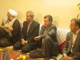 mahmoed Ahmadinejad nikahkan anak